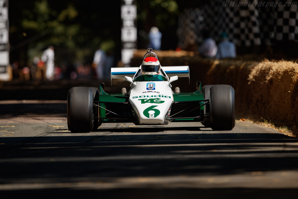 Williams FW08B - Chassis: FW08-06 - Entrant: Williams F1 - Driver: Emanuele Pirro  - 2018 Goodwood Festival of Speed