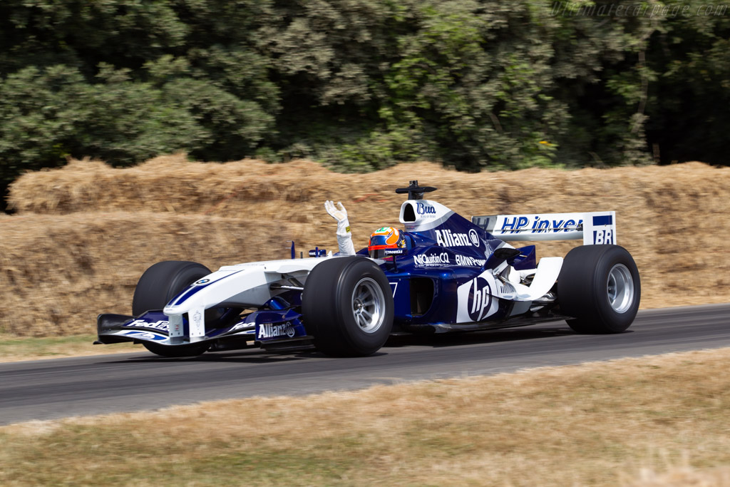Williams FW26 BMW - Chassis: FW26-06 - Entrant: Williams Heritage - Driver: Karun Chandhok  - 2018 Goodwood Festival of Speed