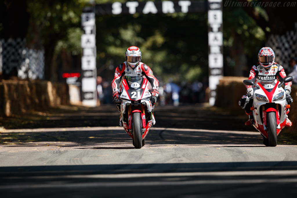 Yamaha YZR-1    - 2018 Goodwood Festival of Speed