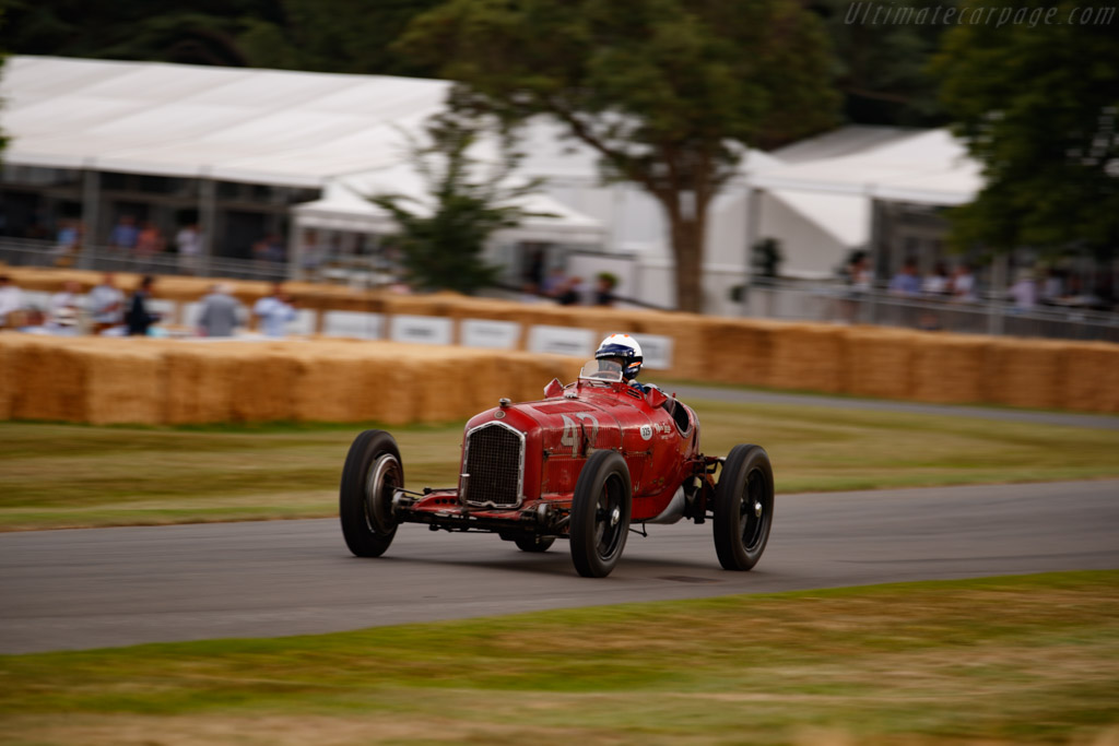 Alfa Romeo Tipo B - Chassis: 50007 - Entrant: Jennie Taylor - Driver: James Wood - 2019 Goodwood Festival of Speed