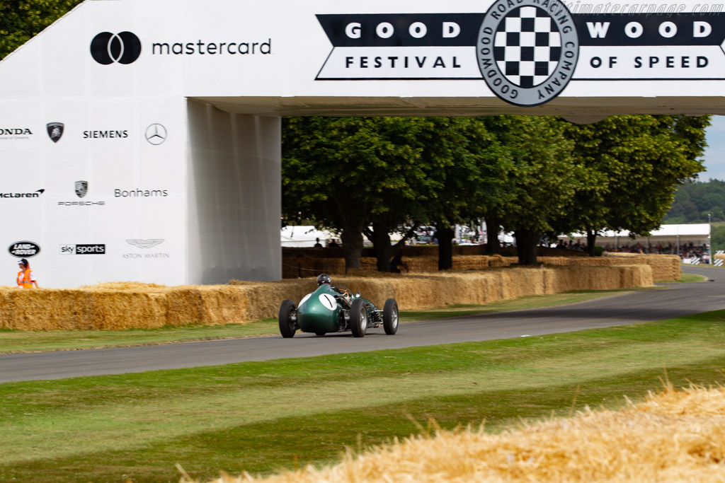Aston Martin DBR4 - Chassis: DBR4/3 - Entrant / Driver Egon Zweimüller Jr.  - 2019 Goodwood Festival of Speed