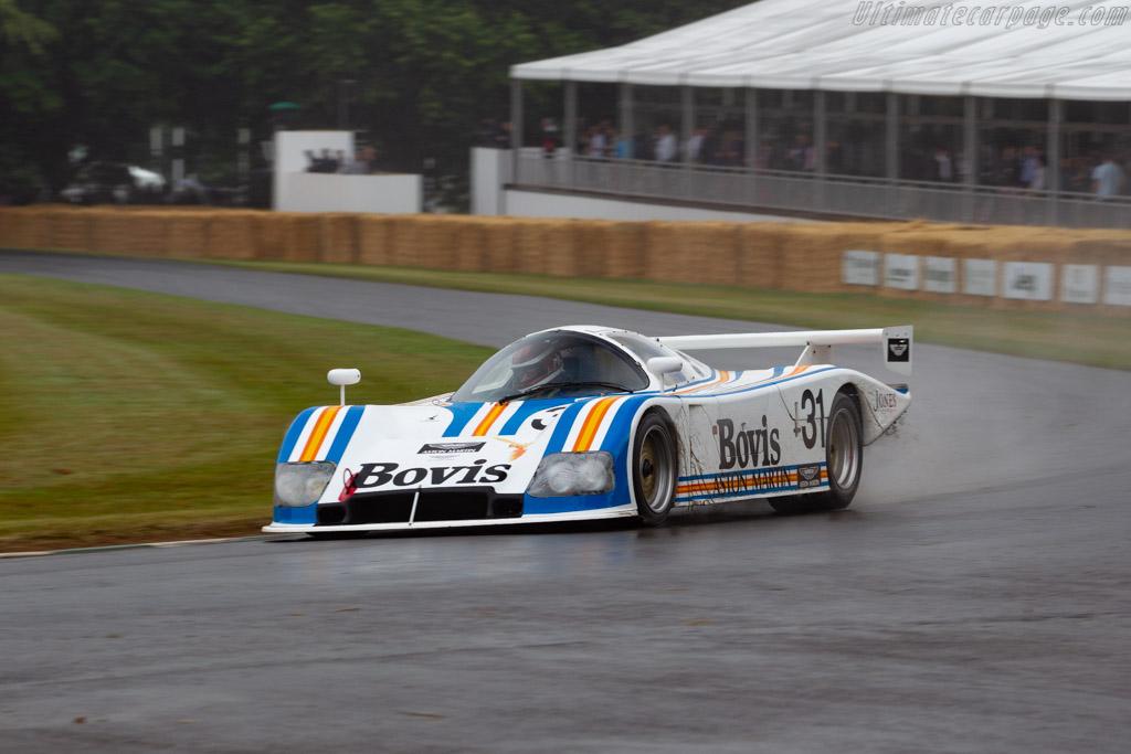 Aston Martin Nimrod - Chassis: NRA/C2 005 - Entrant: Roger Bennington - Driver: Roger Bennington / Ray Mallock  - 2019 Goodwood Festival of Speed