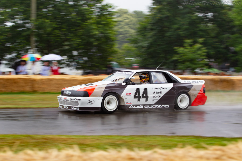 Audi 200 Quattro Trans-Am  - Entrant: Audi Tradition - Driver: Frank Biela / Timo Witt - 2019 Goodwood Festival of Speed