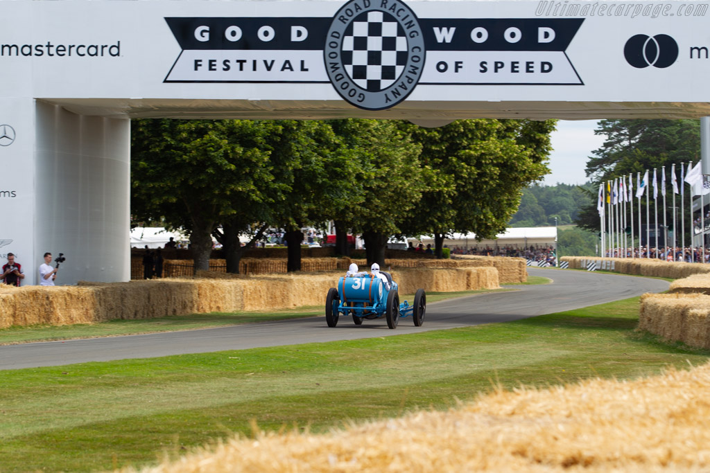 Ballot 5/8 LC Indianapolis - Chassis: 1003 - Entrant: Collier Automotive Museum - Driver: Eddie Beresford - 2019 Goodwood Festival of Speed
