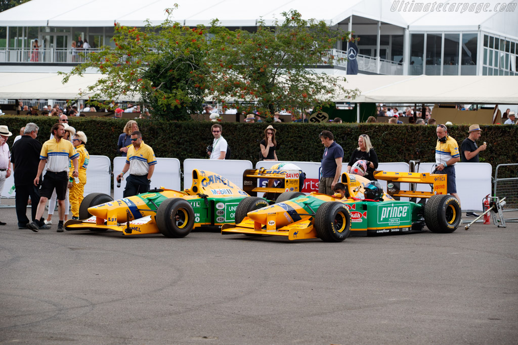 Benetton B193 - Chassis: B193-04 - Entrant: Stephan Ottavianelli - Driver: Riccardo Patrese - 2019 Goodwood Festival of Speed