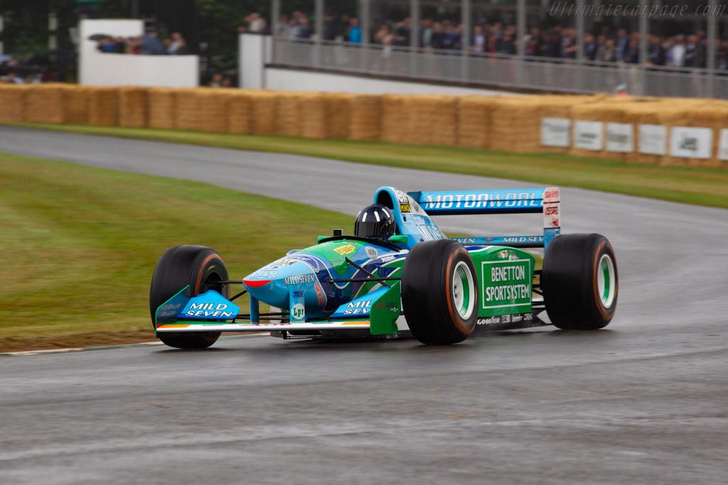 Benetton B194 - Chassis: B194-05 - Entrant: Andreas Dünkel - Driver: Damon Hill - 2019 Goodwood Festival of Speed