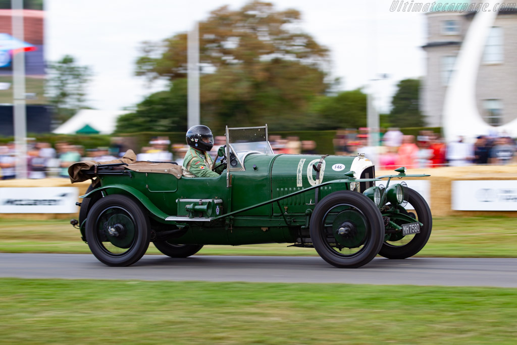 Bentley 3 Litre Le Mans - Chassis: 141 - Entrant: Jonathan Turner - Driver: William Medcalf - 2019 Goodwood Festival of Speed