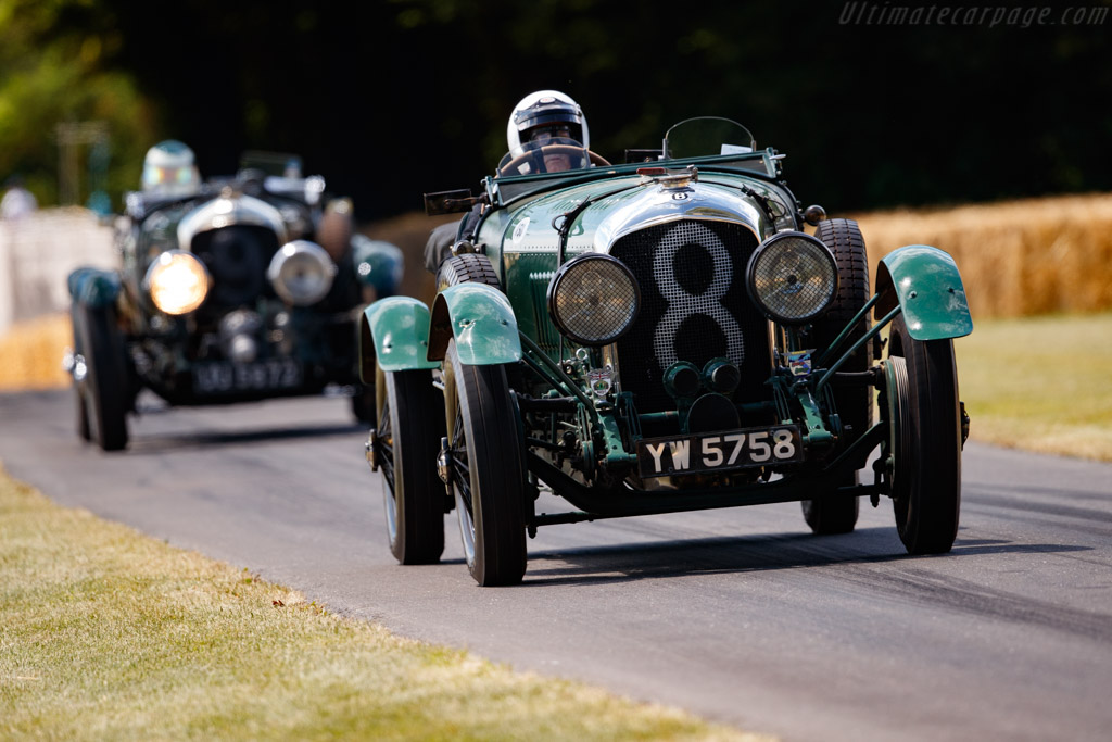 Bentley 4½-Litre Le Mans Tourer - Chassis: TX3246 - Entrant / Driver Ian Andrews - 2019 Goodwood Festival of Speed