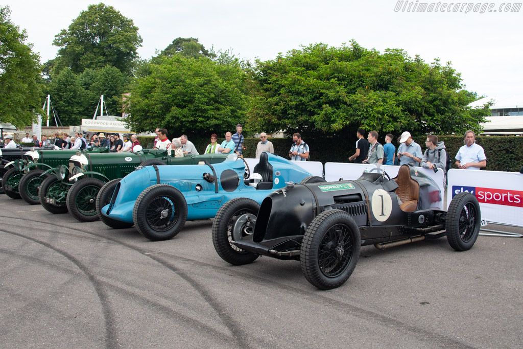 Bentley Pacey Hassan Special  - Entrant: Andreas Pohl - Driver: William Medcalf - 2019 Goodwood Festival of Speed