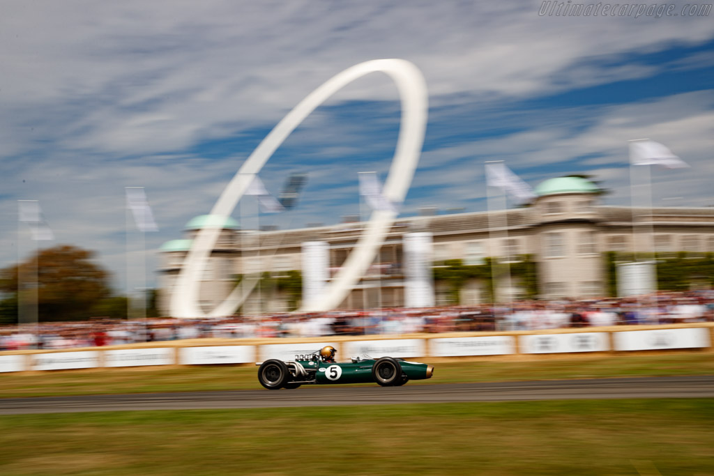 Brabham BT20 - Chassis: F1-1-66 - Entrant / Driver Geoff Underwood  - 2019 Goodwood Festival of Speed