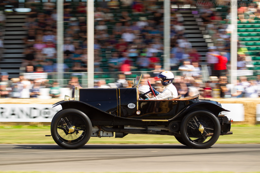 Bugatti Type 18 'Black Bess' - Chassis: 474 - Entrant: Louwman Museum - Driver: James Wood - 2019 Goodwood Festival of Speed
