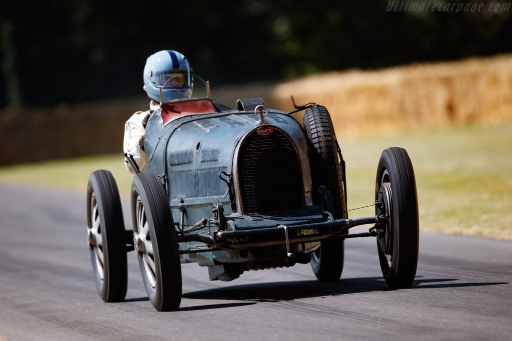 Bugatti Type 35C - Chassis: 4941 - Entrant / Driver Lukas Hüni - 2019 Goodwood Festival of Speed