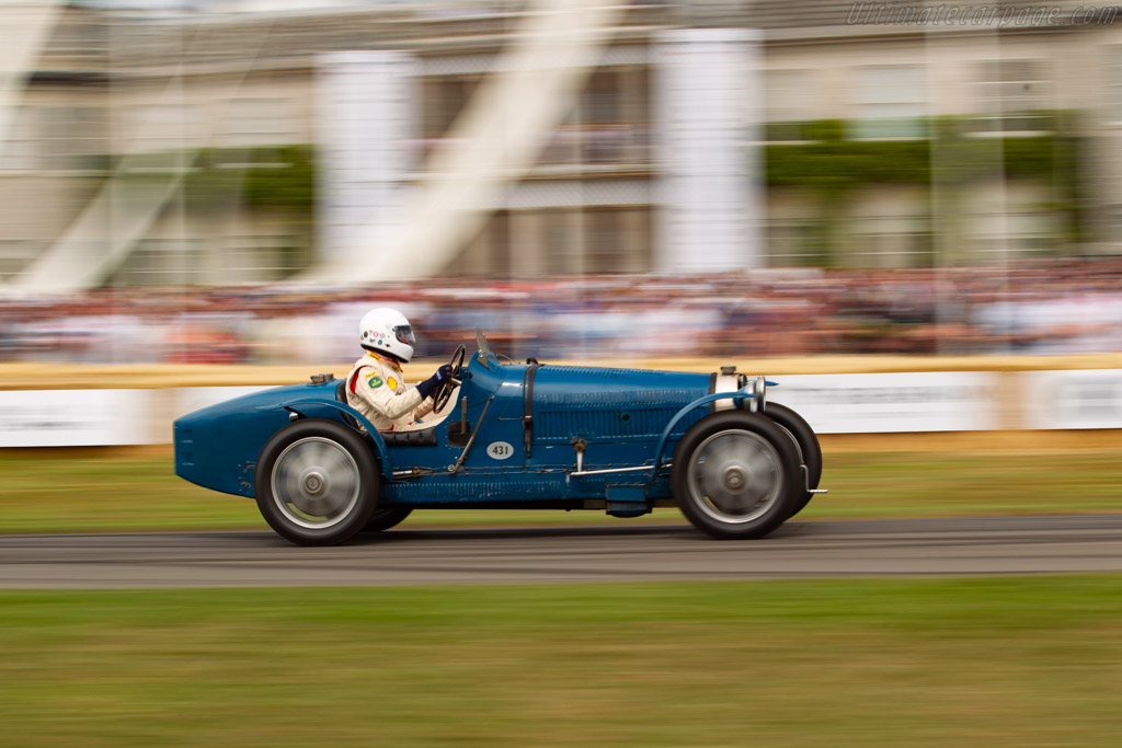 Bugatti Type 51 - Chassis: 51160 - Entrant / Driver Conrad Ulrich - 2019 Goodwood Festival of Speed