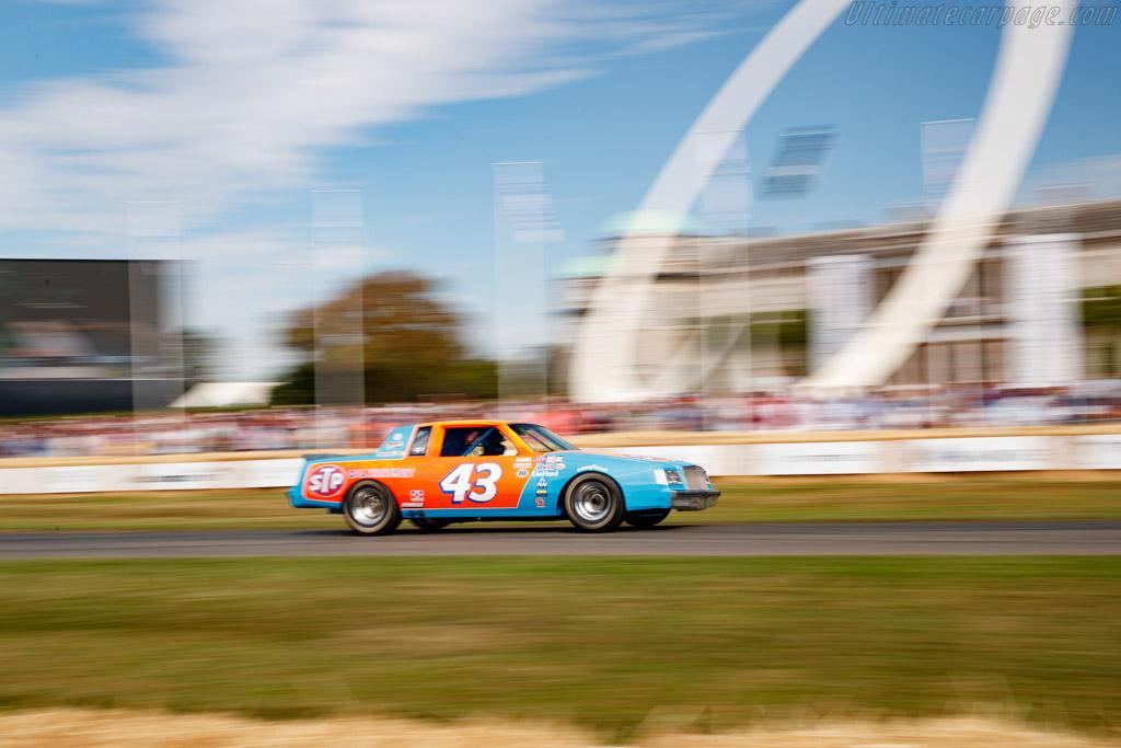 Buick Regal  - Entrant: Richard Petty - Driver: Richard Petty / Thaddeus Moffitt - 2019 Goodwood Festival of Speed