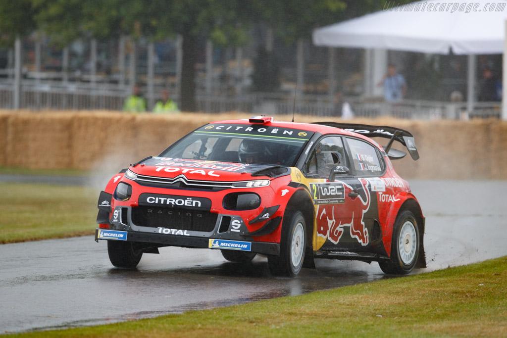 Citroën C3 WRC  - Entrant: Citroen UK - Driver: Sebastien Ogier - 2019 Goodwood Festival of Speed