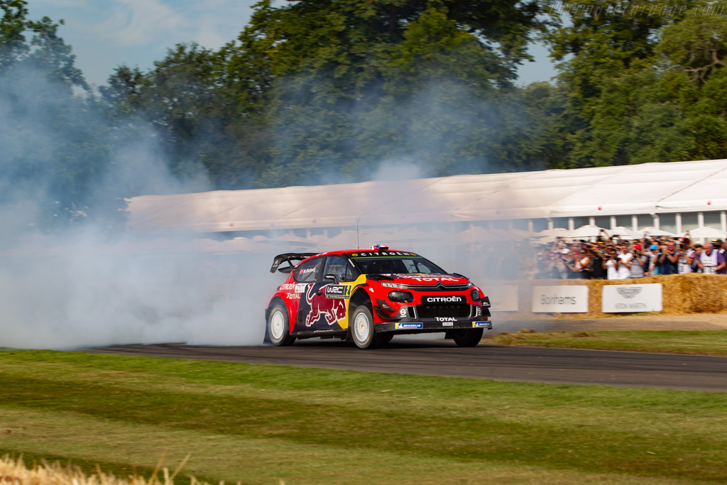 Citroën C3 WRC  - Entrant: Citroen UK - Driver: Esapekka Lappi/ Sebastien Ogier/ Mads Ostberg - 2019 Goodwood Festival of Speed