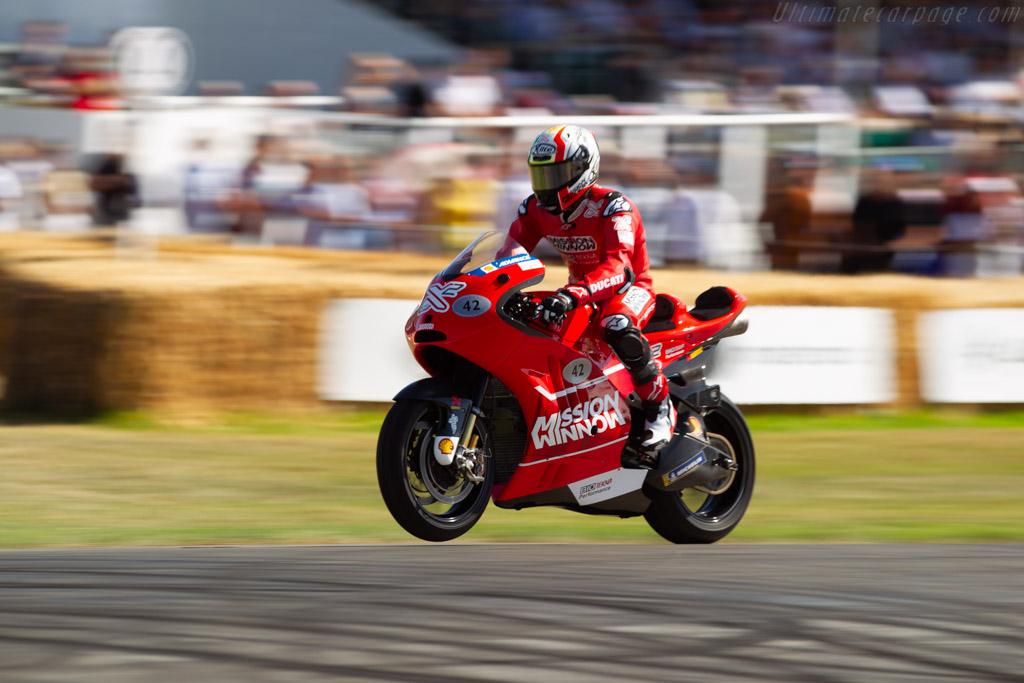 Ducati Desmosedici X2  - Entrant: Ducati Corse - Driver: Randy Mamola - 2019 Goodwood Festival of Speed