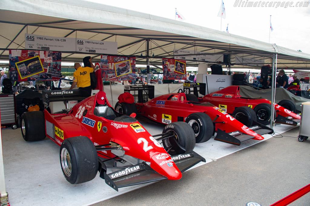 Ferrari 126 C2B - Chassis: 064 - Entrant: Holger Lange - Driver: Holger Lange / Egon Zweimuller - 2019 Goodwood Festival of Speed