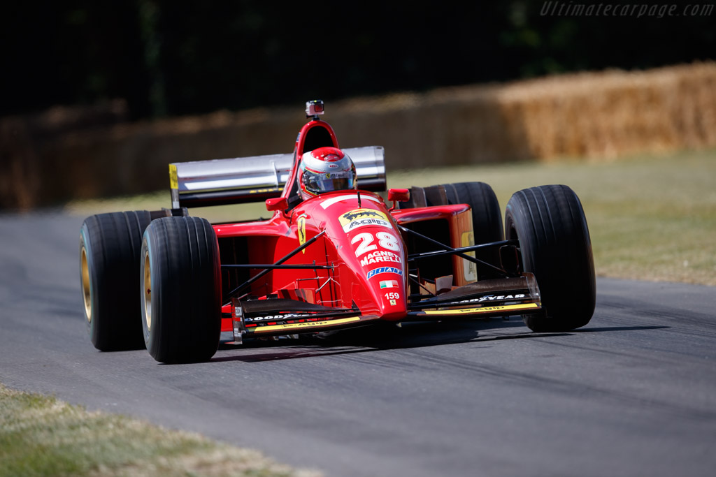 Ferrari 412 T2 - Chassis: 159 - Entrant / Driver Christian Knobloch - 2019 Goodwood Festival of Speed