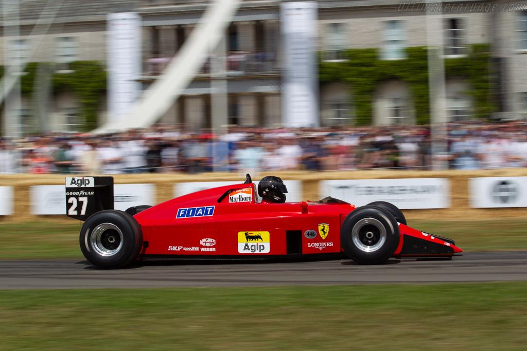 Ferrari 639 F1 - Chassis: 106 - Entrant / Driver Holger Lange - 2019 Goodwood Festival of Speed