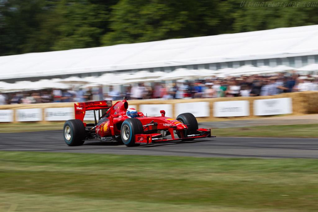 Ferrari F10 - Chassis: 276 - Entrant: Scuderia Ferrari - Driver: Marc Gené - 2019 Goodwood Festival of Speed