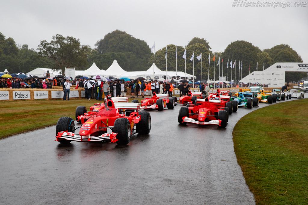 Ferrari F2004 - Chassis: 234 - Entrant / Driver Luis Pérez Companc - 2019 Goodwood Festival of Speed