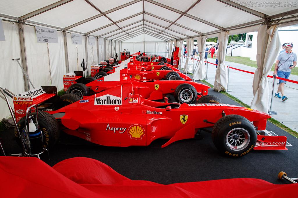 Ferrari F300  - Entrant: Martin Viessmann - 2019 Goodwood Festival of Speed