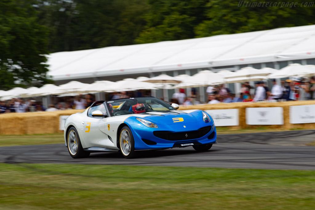 Ferrari SP JC - Chassis: 230219 - Entrant: Ferrari North Europe - 2019 Goodwood Festival of Speed