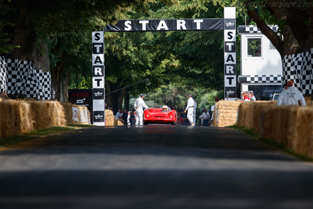Fiat-Abarth 1000 Spider  - Entrant: Möll Collection - Driver: Andy Kainer / Peter Ruch - 2019 Goodwood Festival of Speed