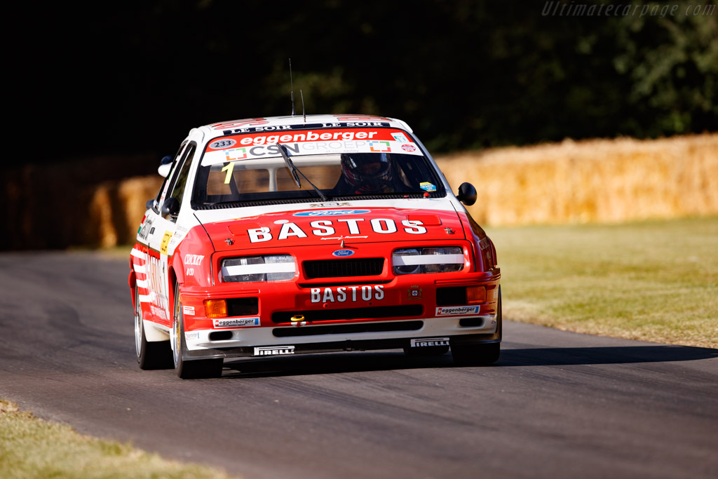 Ford Sierra Cosworth Group A - Chassis: GABEJG99268 - Entrant: Peter & Ann Sturgeon - Driver: Paul Radisich / Gianfranco Brancatelli - 2019 Goodwood Festival of Speed