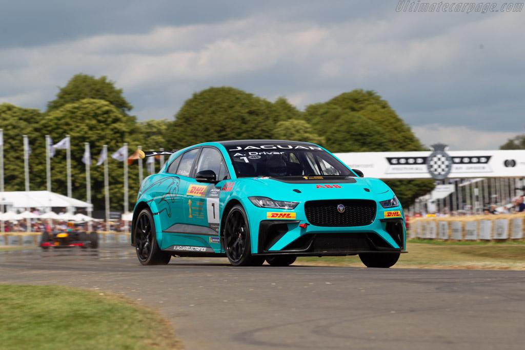 Jaguar I-Pace eTrophy  - Entrant: Jaguar LandRover - 2019 Goodwood Festival of Speed