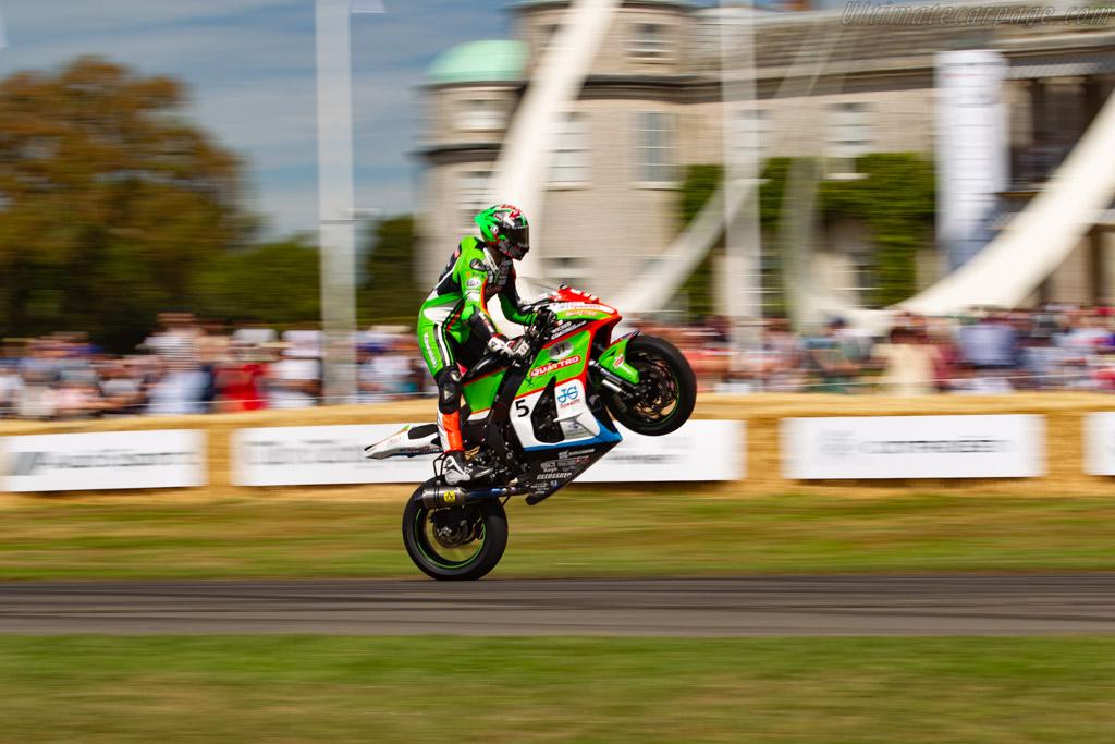 Kawasaki ZX-10R  - Entrant: JG Speedfit Kawasaki - Driver: James Hillier - 2019 Goodwood Festival of Speed
