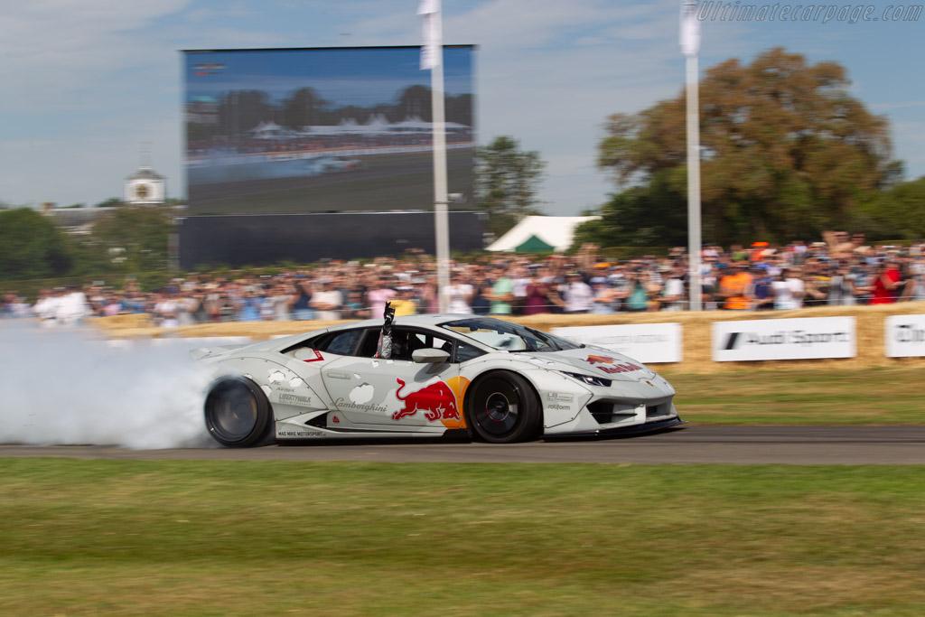 Lamborghini Huracan  - Entrant / Driver Mike Whiddett - 2019 Goodwood Festival of Speed