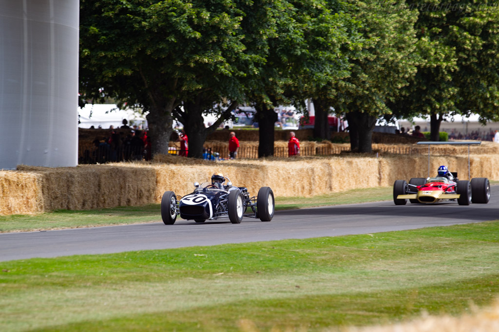 Lotus 18 Climax - Chassis: 912 - Entrant: Adam Lindemann - Driver: Simon Diffy - 2019 Goodwood Festival of Speed