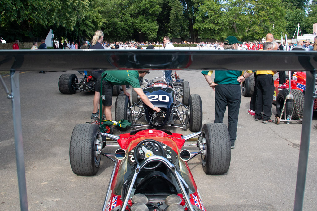 Lotus 49B - Chassis: R10 - Entrant: Classic Team Lotus - Driver: Joshua Hill - 2019 Goodwood Festival of Speed