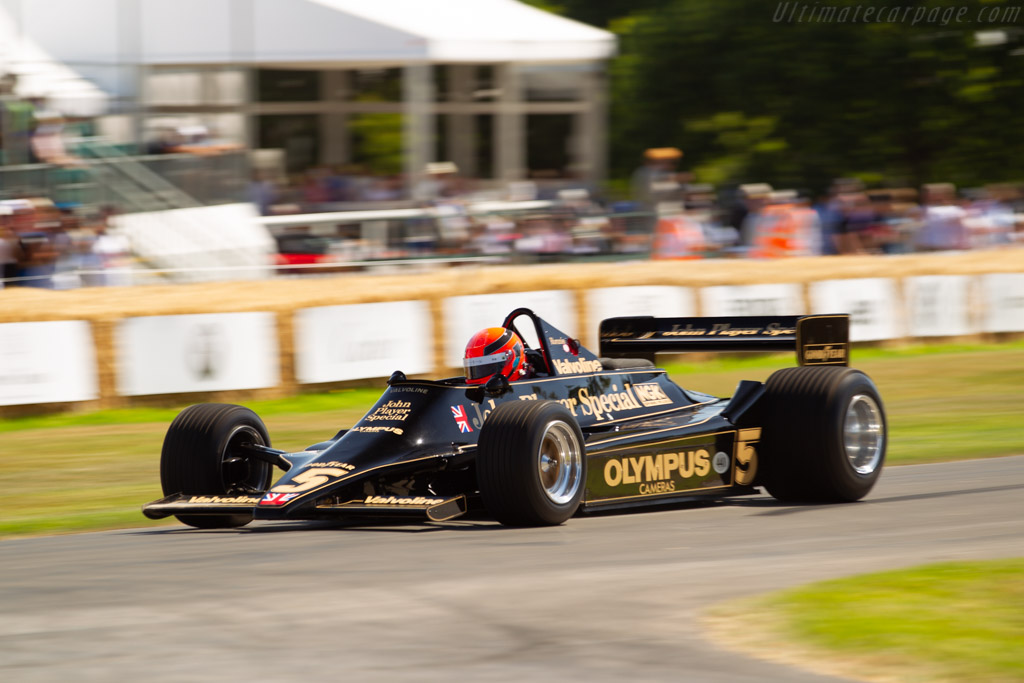 Lotus 79 Cosworth - Chassis: 79/2 - Entrant / Driver Clive Chapman - 2019 Goodwood Festival of Speed