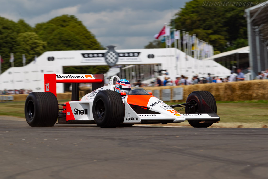 McLaren MP4/4 Honda - Chassis: MP4/4-5 - Entrant: Honda Motor Company - Driver: Takuma Sato - 2019 Goodwood Festival of Speed