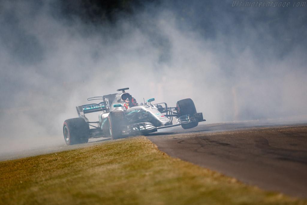 Mercedes-Benz W08  - Entrant: Mercedes-Benz - Driver: Esteban Ocon - 2019 Goodwood Festival of Speed