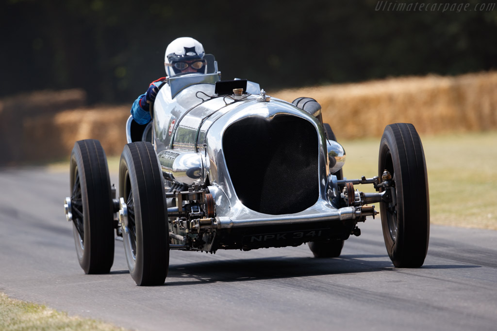 Napier Railton  - Entrant: Brooklands Museum - Driver: Allan Winn - 2019 Goodwood Festival of Speed