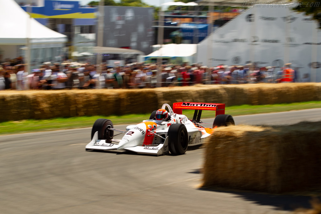 Penske PC22 - Chassis: PC93/001 - Entrant: Anthony Smith - Driver: Jeremy Smith - 2019 Goodwood Festival of Speed