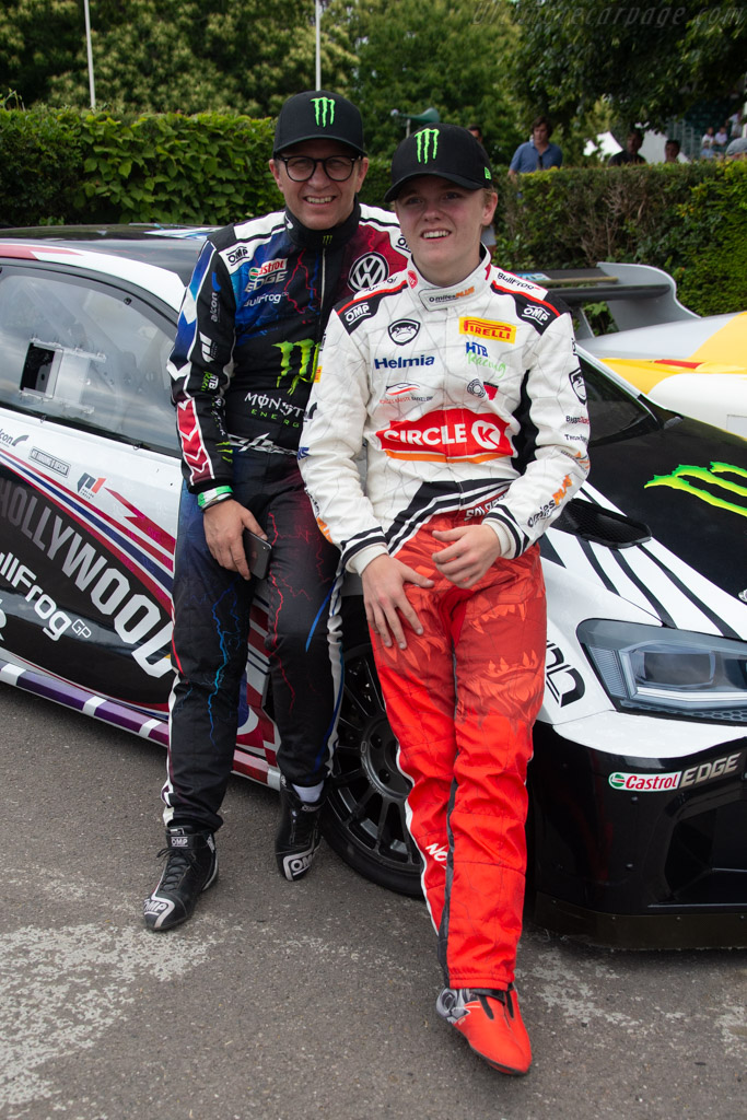 Petter and Oliver Solberg   - 2019 Goodwood Festival of Speed