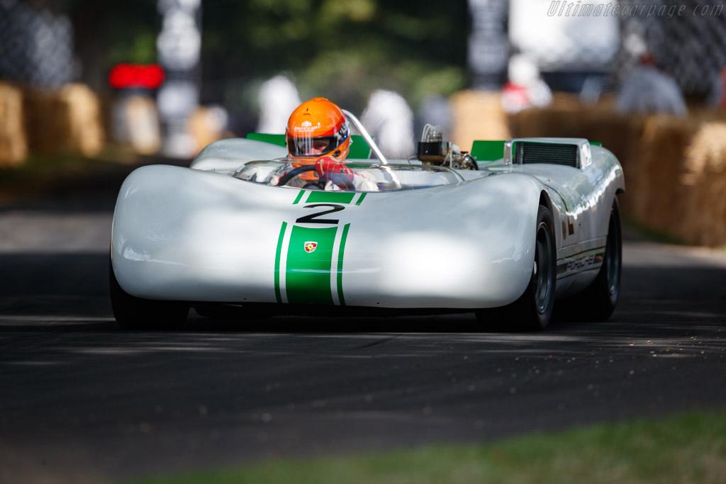 Porsche 909 Bergspyder - Chassis: 909-002 - Entrant: Porsche Museum - Driver: Richard Attwood / Gijs van Lennep / Derek Bell - 2019 Goodwood Festival of Speed