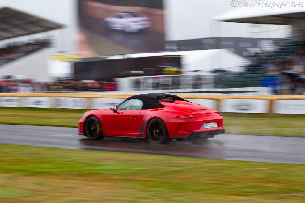 Porsche 911 Speedster  - Entrant: Porsche Cars GB - 2019 Goodwood Festival of Speed