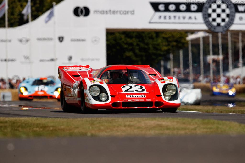 Porsche 917 K - Chassis: 917-023 - Entrant: Ficafrio Ltd - Driver: Richard Attwood - 2019 Goodwood Festival of Speed