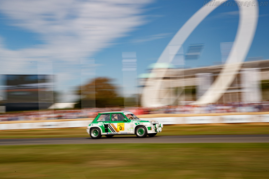 Renault R5 Maxi Superproduction  - Entrant: Renault Classic - Driver: Alain Serpaggi - 2019 Goodwood Festival of Speed