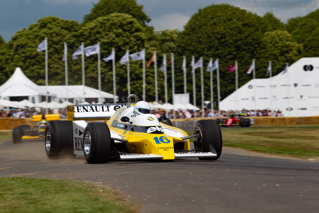 Renault RS10 - Chassis: RE22 - Entrant: Collection Renault - Driver: René Arnoux - 2019 Goodwood Festival of Speed