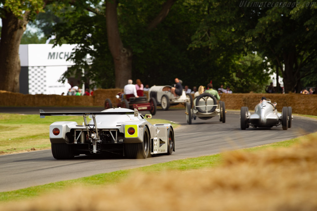 Sauber-Mercedes C9 - Chassis: 89.C9.A1 - Entrant: Rupert Clevely - Driver: Rupert Clevely / Joe Twyman - 2019 Goodwood Festival of Speed