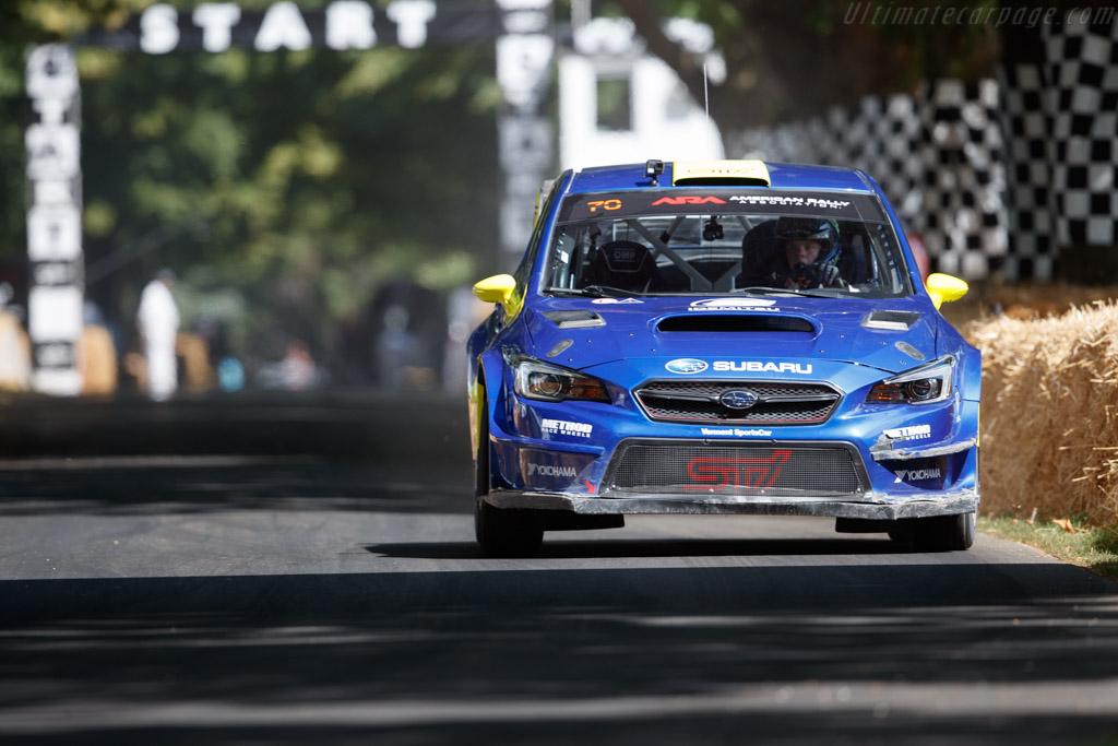 Subaru Impreza STI  - Entrant / Driver Oliver Solberg - 2019 Goodwood Festival of Speed