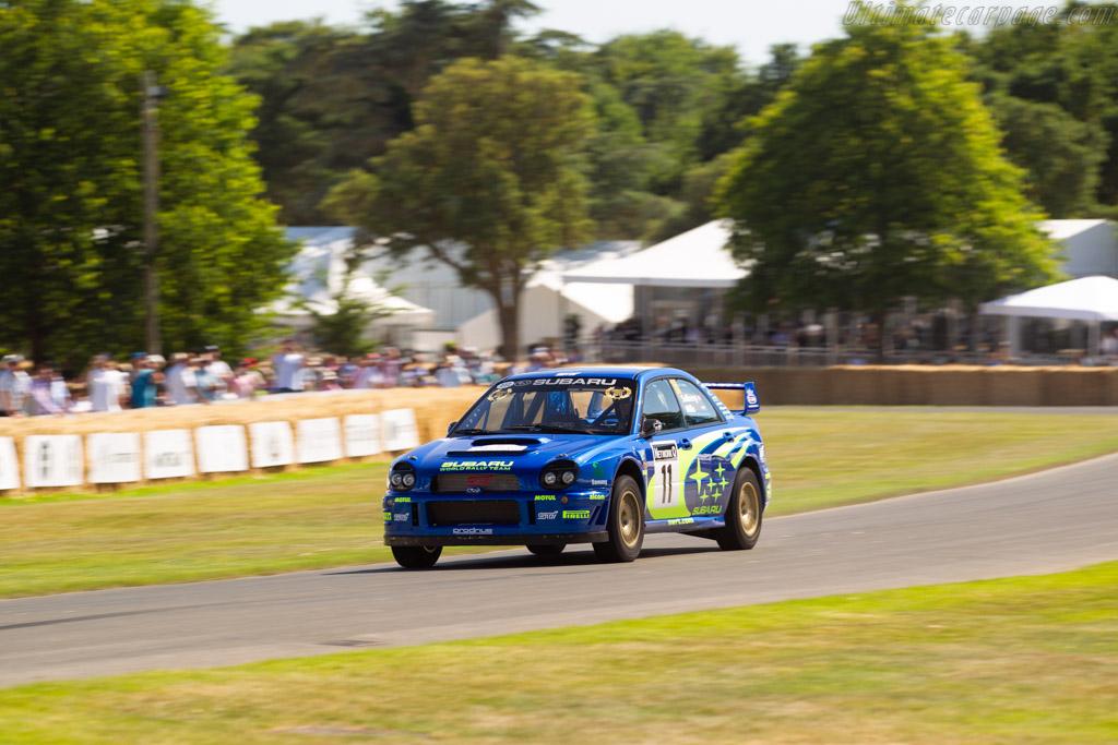 Subaru Impreza WRC  - Entrant / Driver Petter Solberg - 2019 Goodwood Festival of Speed