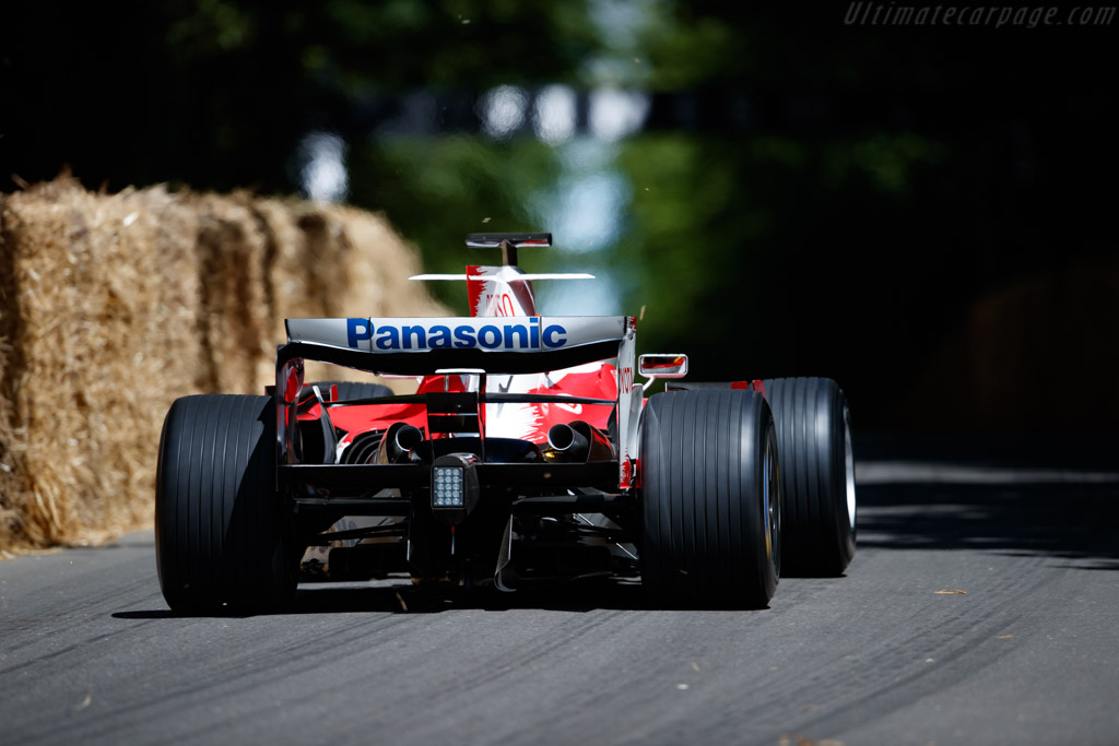 Toyota TF108  - Entrant / Driver Harald Fuchs - 2019 Goodwood Festival of Speed